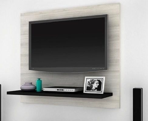 Panel lcd led rack modular organizador muebles for Muebles televisor moderno