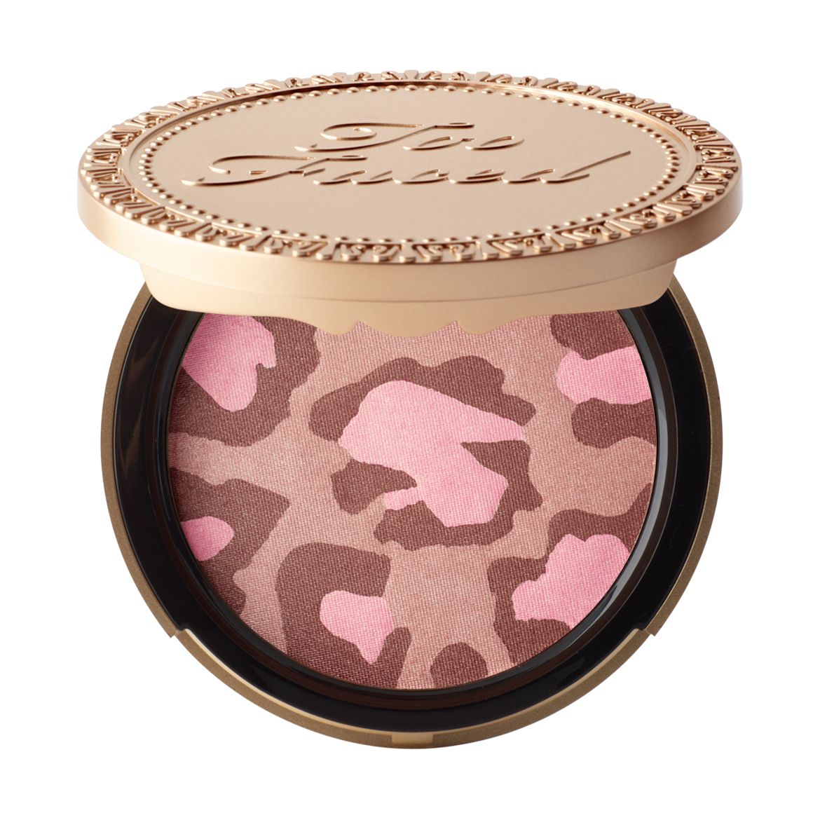 Looking for a pink bronzer? Combining gorgeous shades of golden bronzes, gilded pinks and neutral fawns, our Pink Leopard blushing bronzer creates a glorious all-over glow for all skin tones.
