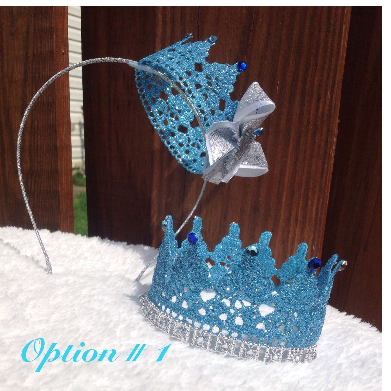 Frozen Crown/Tiara/Frozen Costume, Queen Elsa,Queen elsa outfit,Birthday outfit,Photography Prop,Queen Elsa by BowsJust4Princesses on Etsy https://www.etsy.com/listing/206667980/frozen-crowntiarafrozen-costume-queen