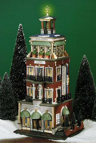 department 56 christmas in the city village the chrysler building lit house 4030342