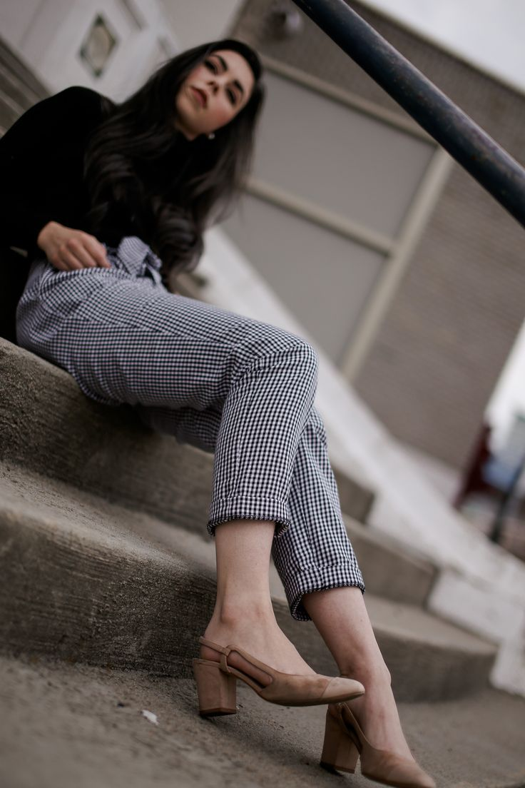 How to style checked pants from nakd clothing instagram