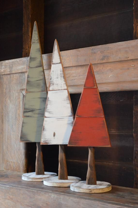 medium handmade wooden tree kreatives weihnachten holz. Black Bedroom Furniture Sets. Home Design Ideas