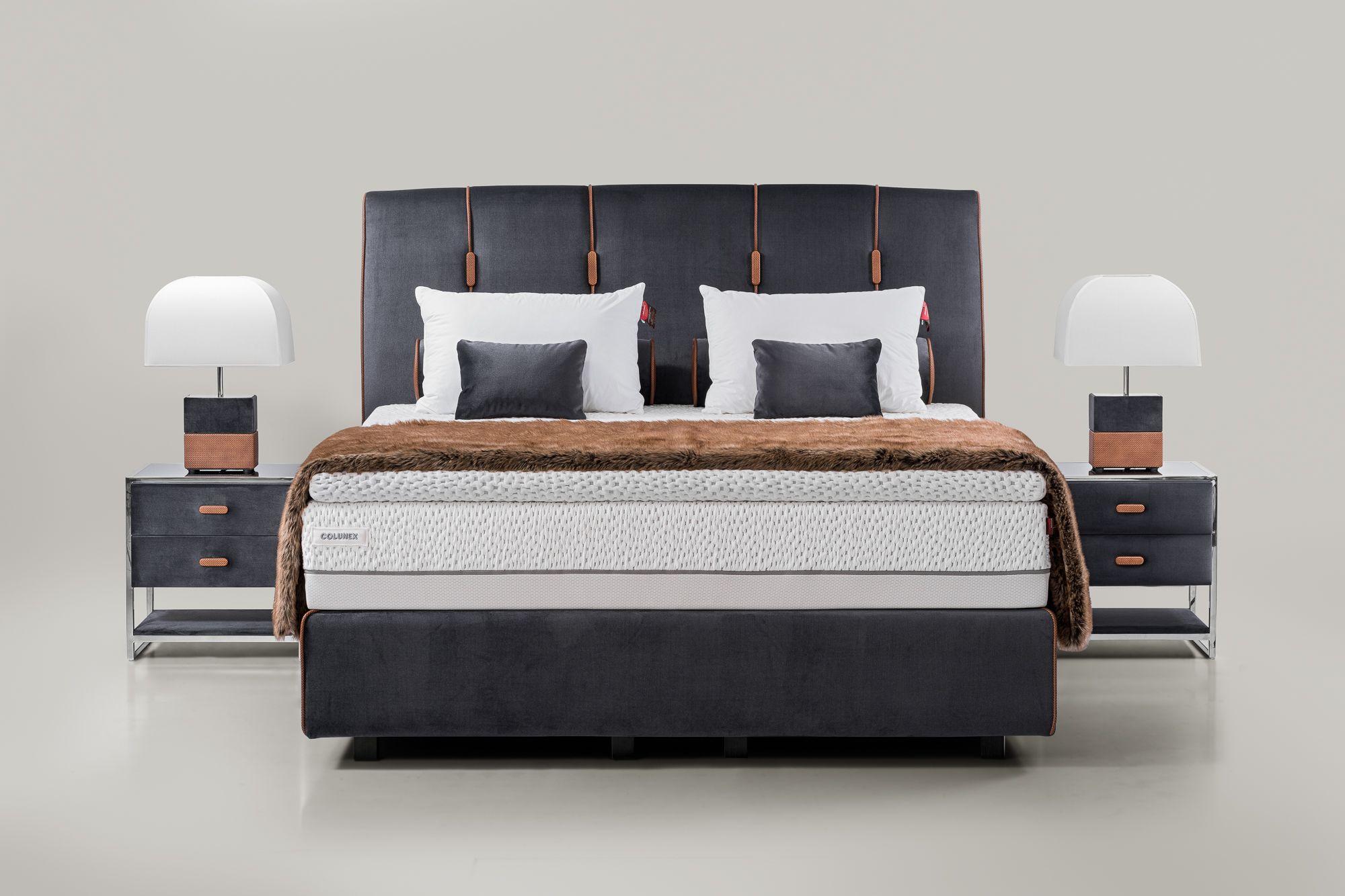 Benjamin Bed By Colunex Bedroom Bed Design Bed Furniture New