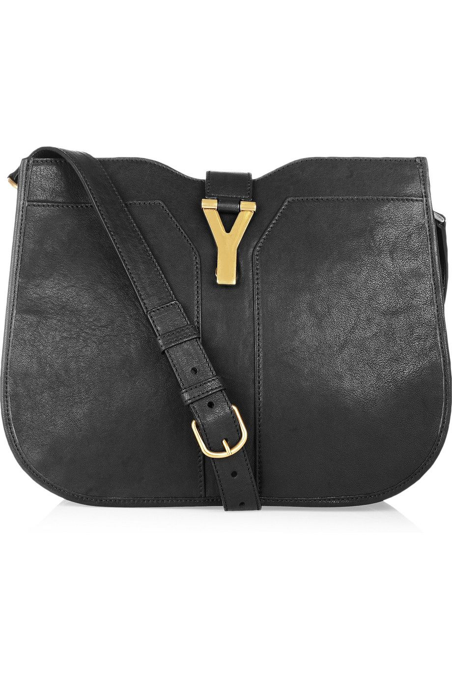 Yves Saint Laurent - Chyc leather shoulder bag  1c7cd97d5702a