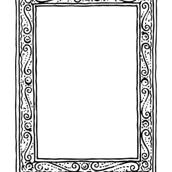 Frame 1 Coloring Page Http Www Coloringpick Com 1059 Picture Frame Coloring Sheet Marcos