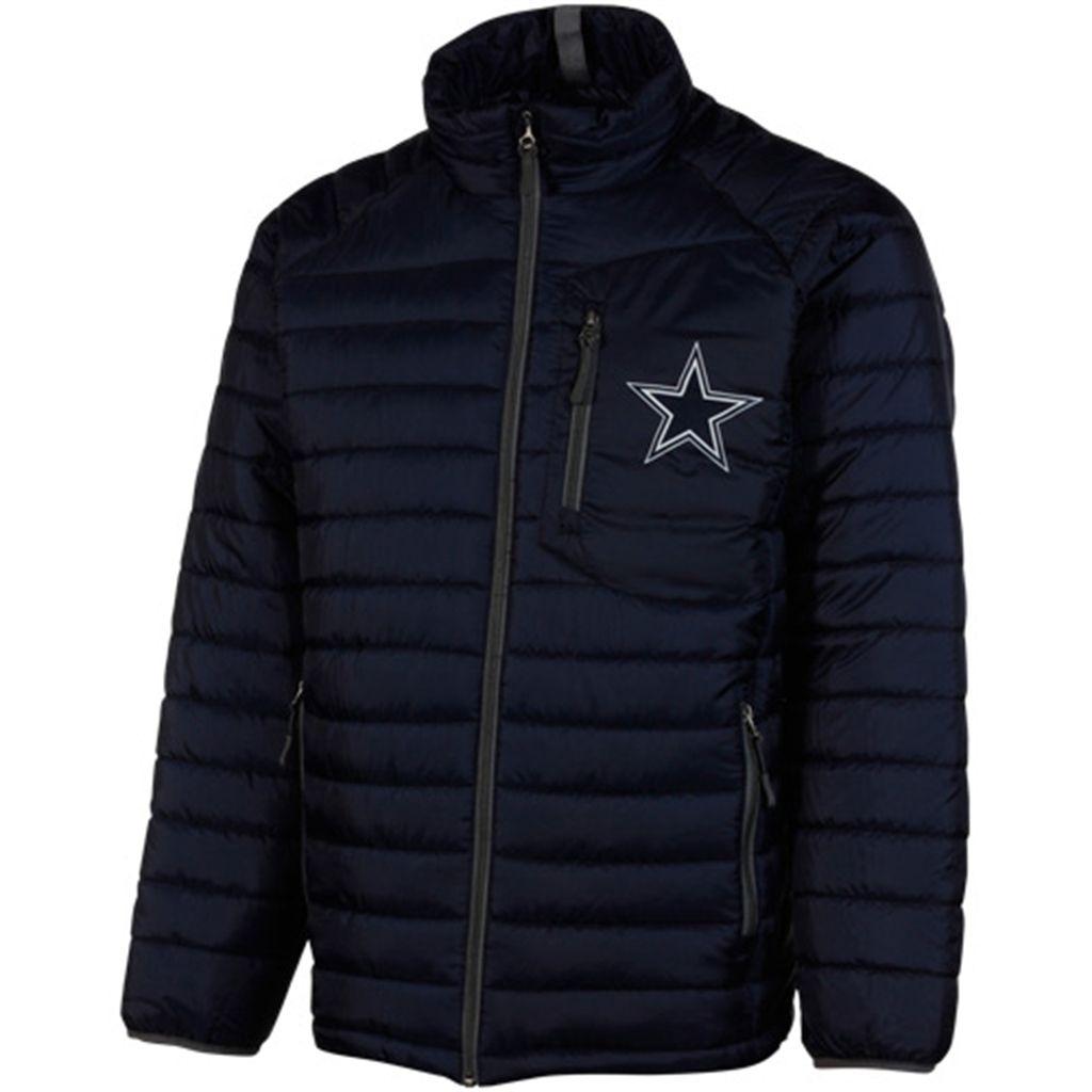Dallas Cowboys Puffer Full Zip Jacket Navy Blue Football Jackets Cowboy Jacket Jackets [ 1024 x 1024 Pixel ]