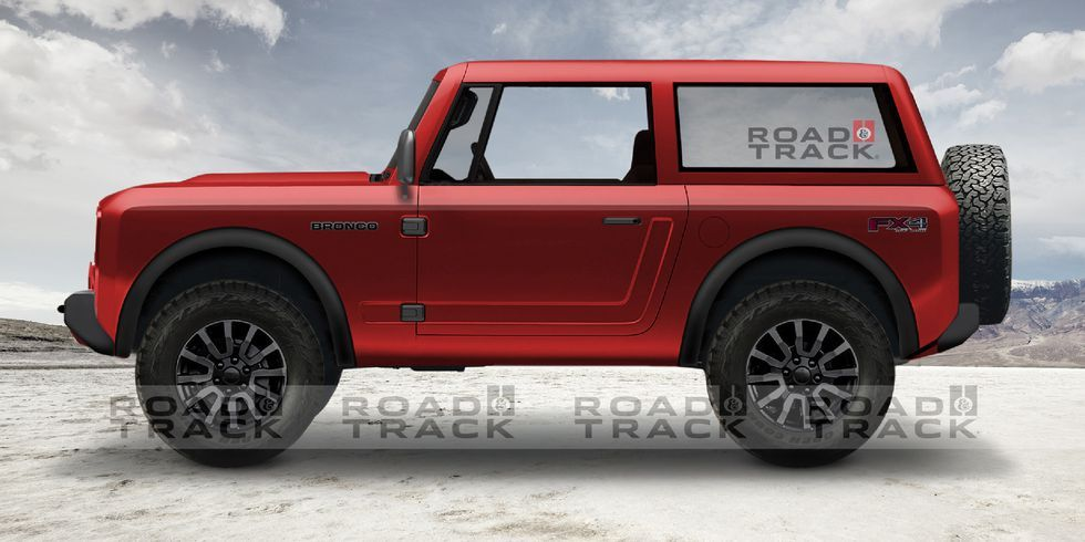 Here S What We Think The 2020 Ford Bronco Will Look Like Ford Bronco New Bronco Ford Bronco Concept