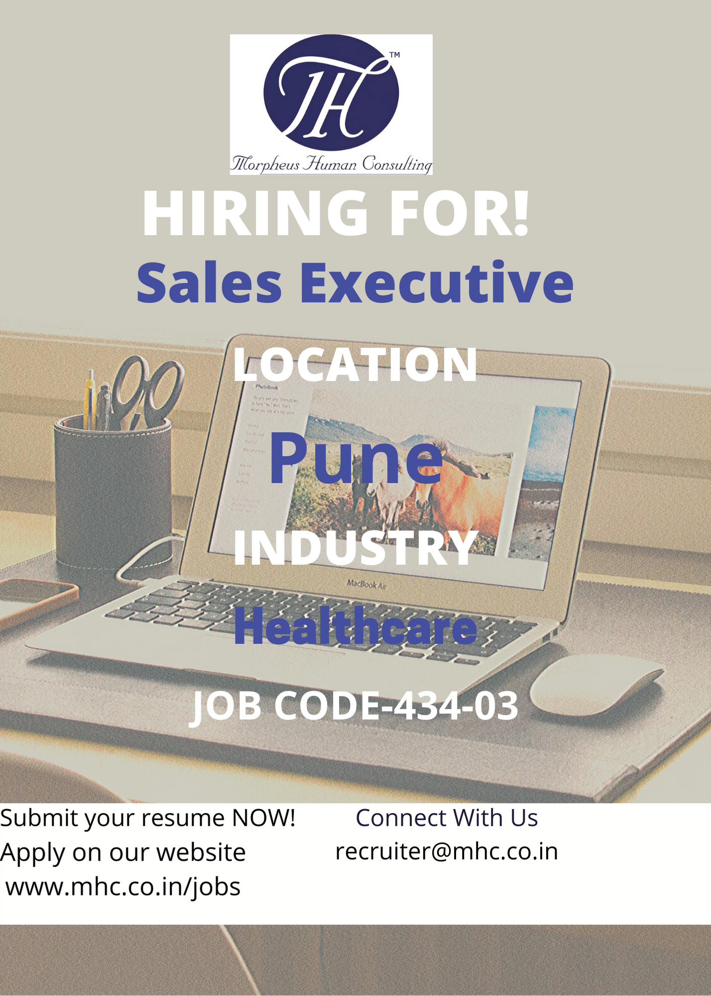 Kindly find below the Job Responsibilities: • Proficient in PHR NOBORI app, Good communication skills • Promote the App •Analysis on number of enrolled patients and drop outs if any.  #jobopportunity #jobsinpune #sales #healthcareindustry  #executive #jobsearch #employers #recruiter #recruitment #cv #interview  #hiring  #opportunities #morpheusconsulting #job #jobs #vacancies #tweetmyjobs #HR  #employment #opportunity #recruiting #jobangels