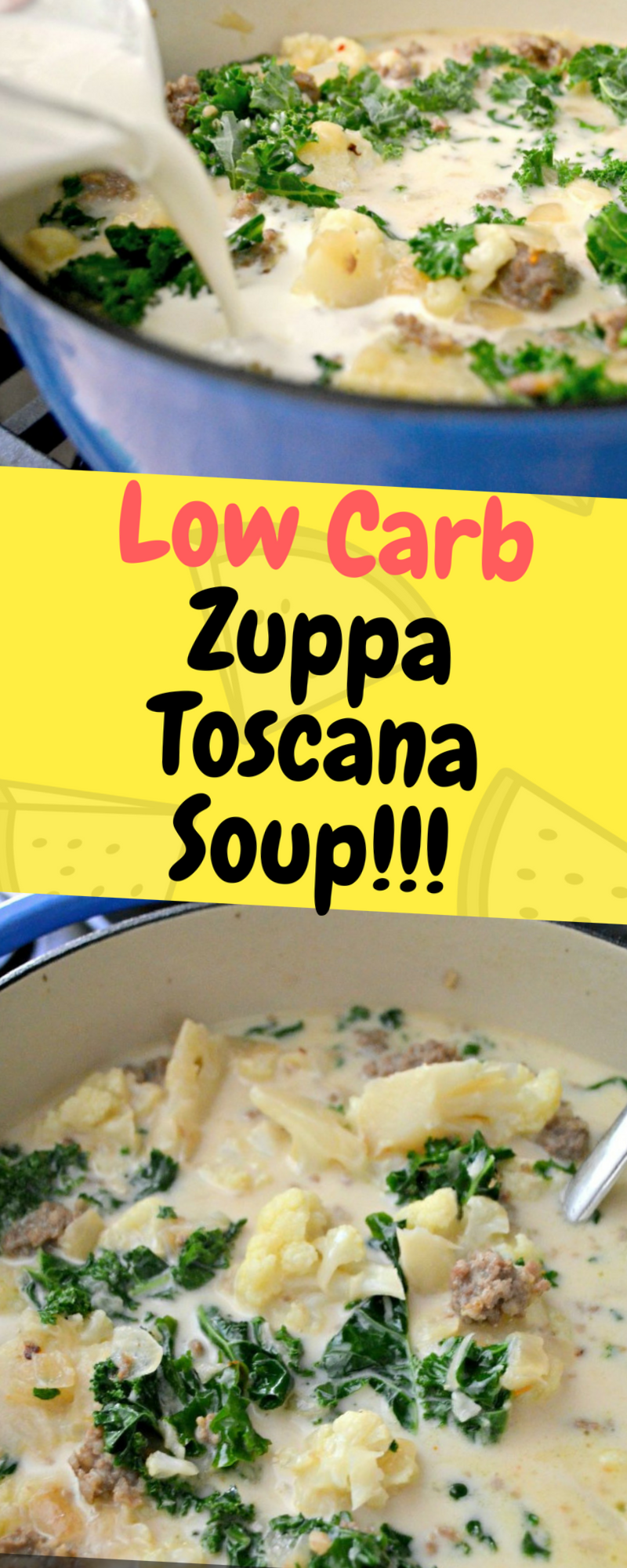 Low Carb Zuppa Toscana Soup - One of food #zuppatoscanasoup Low Carb Zuppa Toscana Soup - One of food #zuppatoscanasoup