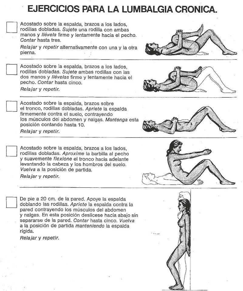 ejercicios recomendados para la  lumbalgia. haraiberia.com  87494fce888e