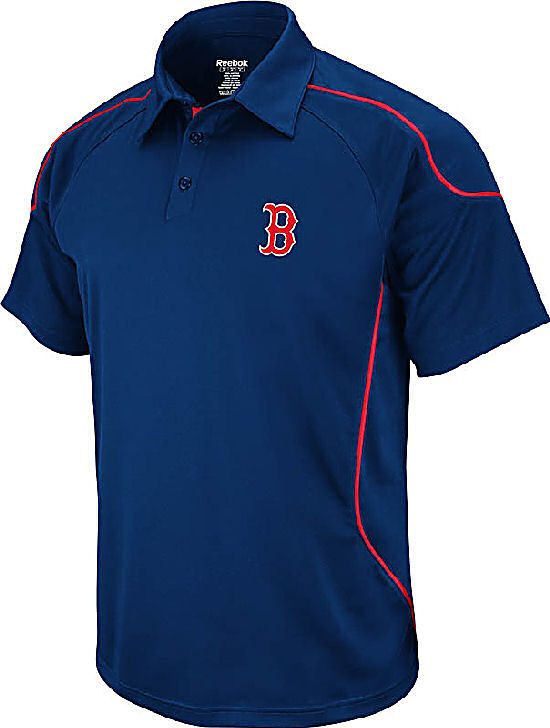 f594424dd Boston Red Sox Flux Trainer Polo Shirt by Reebok $49.95 | Men's ...