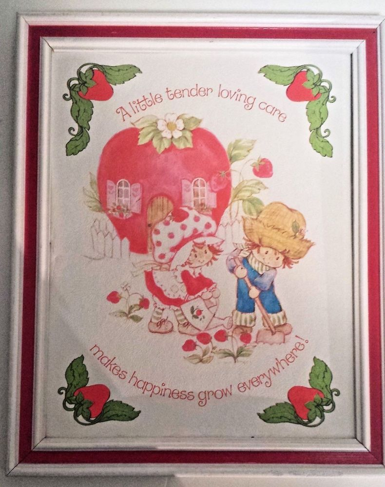 Strawberry Shortcake TENDER LOVING CARE MAKES HAPPINESS