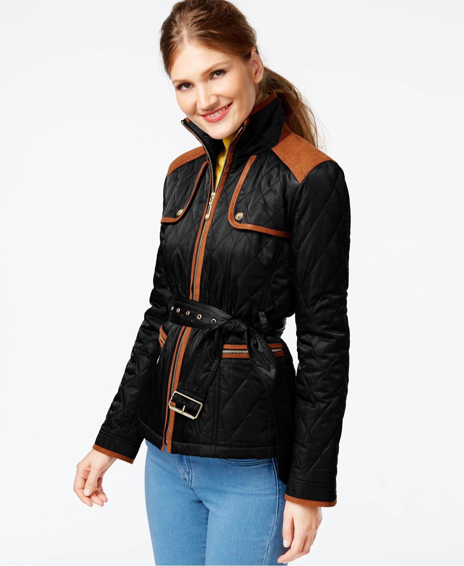 vince quilted jacket s com ip camuto walmart quilt women