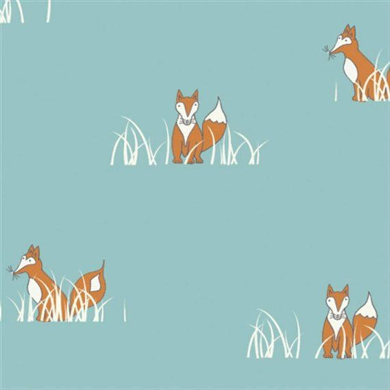 Sly Fox From Birch Organic Fabric's Camp Sur Collection by Jay-Cyn