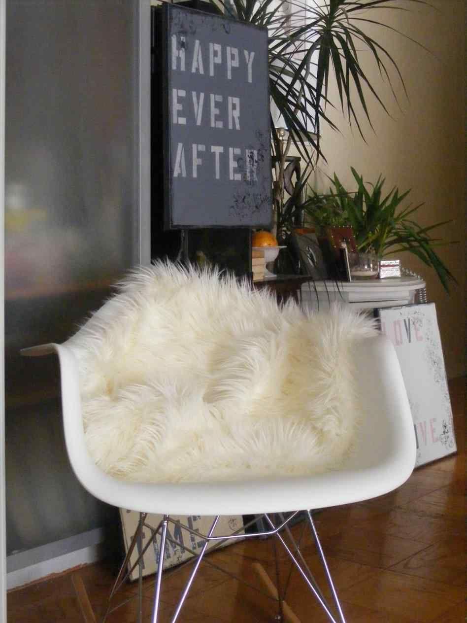 Faux Fur Rug White Ikea