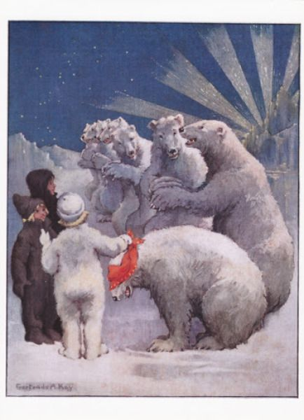Gertrude Alice Kay: Polar Bears en kinderen - Huuto.net