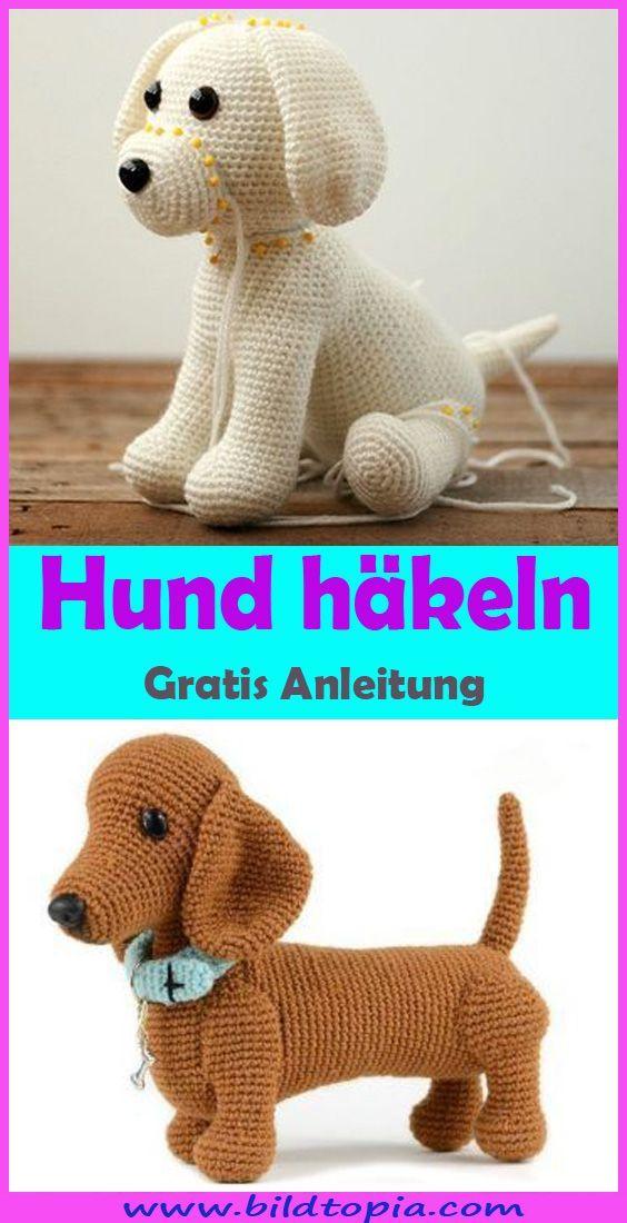 Amigurumi Hund häkeln – kostenlose Anleitung auf Deutsch,  #Amigurumi #Anleitung #auf #Deutsc... #ideenzumselbermachenfürzuhause