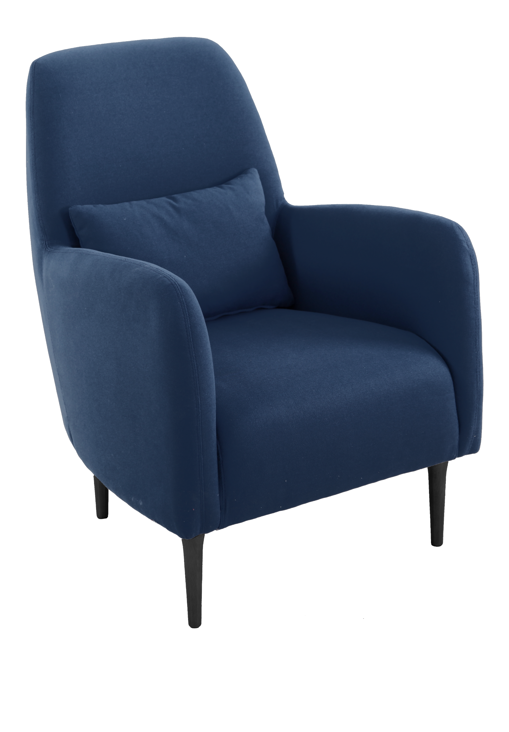 daborn fauteuils fauteuil bleu marine tissu home sweet home pinterest fauteuil bleu bleu. Black Bedroom Furniture Sets. Home Design Ideas