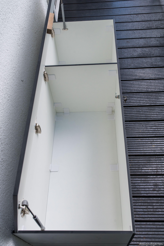 Balkonschrank Sitzbank Sitzboard Win In Munchen By Design Garten Augsburg Farbe Weiss Wetterfest Uv Bestandig Gartenschrank Aussenregale Gartentruhe