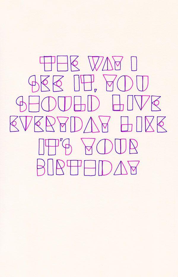 Today Is My Birthday So I Drew A Paris Hilton Quote To Celebrate