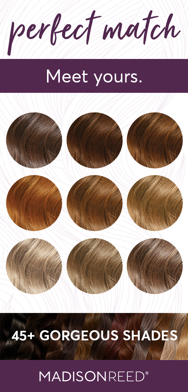 Meet Your Perfect Hair Color Match Ash Blonde Honey Brown