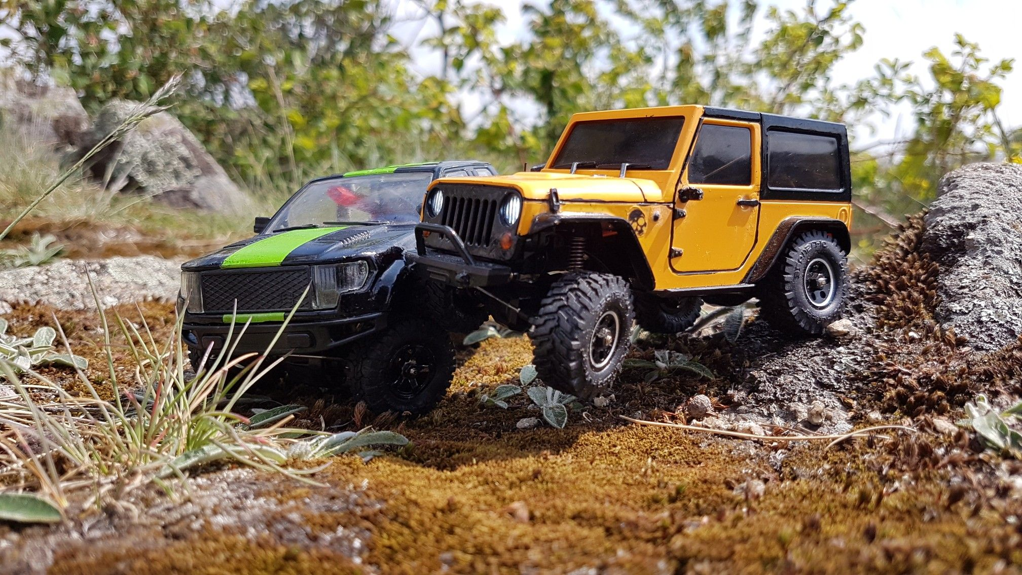 Orlandoo hunter oh35a01 micro rc jeep wrangler ford f159 1 35 rc