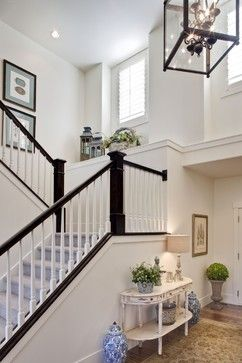 The Little Ledge That Lived Home Staircase Design Traditional