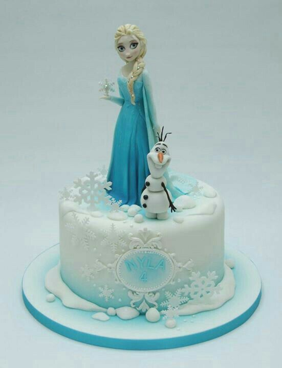 Pin by Jolanta K on torty kraina lodu Pinterest Cake