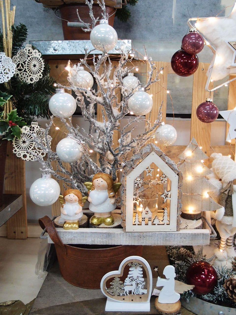 Idee Vetrine Natale | Shop Guerrini | Decor shabby chic ...