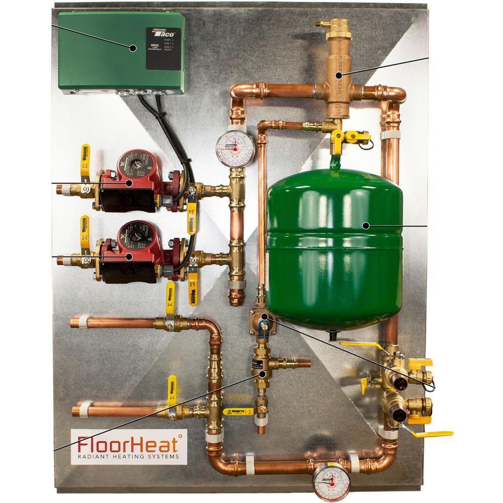 Floorheat 2 Zone Preembled Radiant