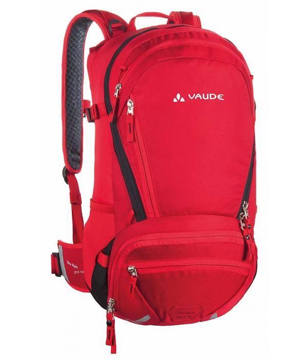 Vaude Bike Alpin 30 5 Red Rugzak Backpacken Mannen