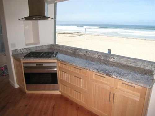 ocean view kitchens | ... bath with water views from every room large ocean front patio