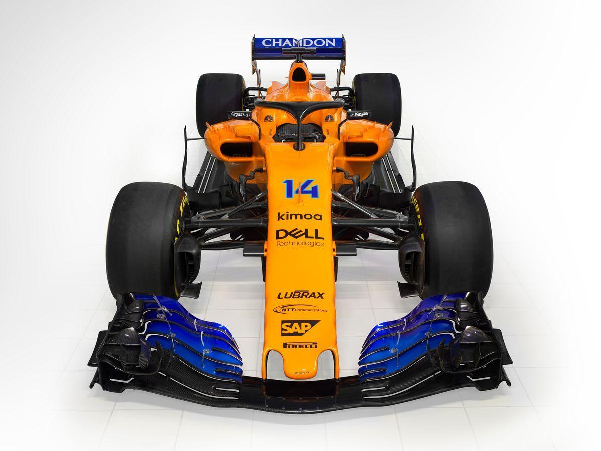 2018 McLaren F1 car launch Renault powered MCL33