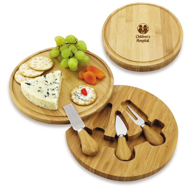 Promotional Cheese Board With Company Logo Cheese Board