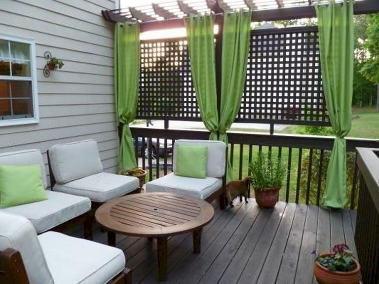 Screened In Decks Screened In Patio Deck Curtains Outdoor Curtains
