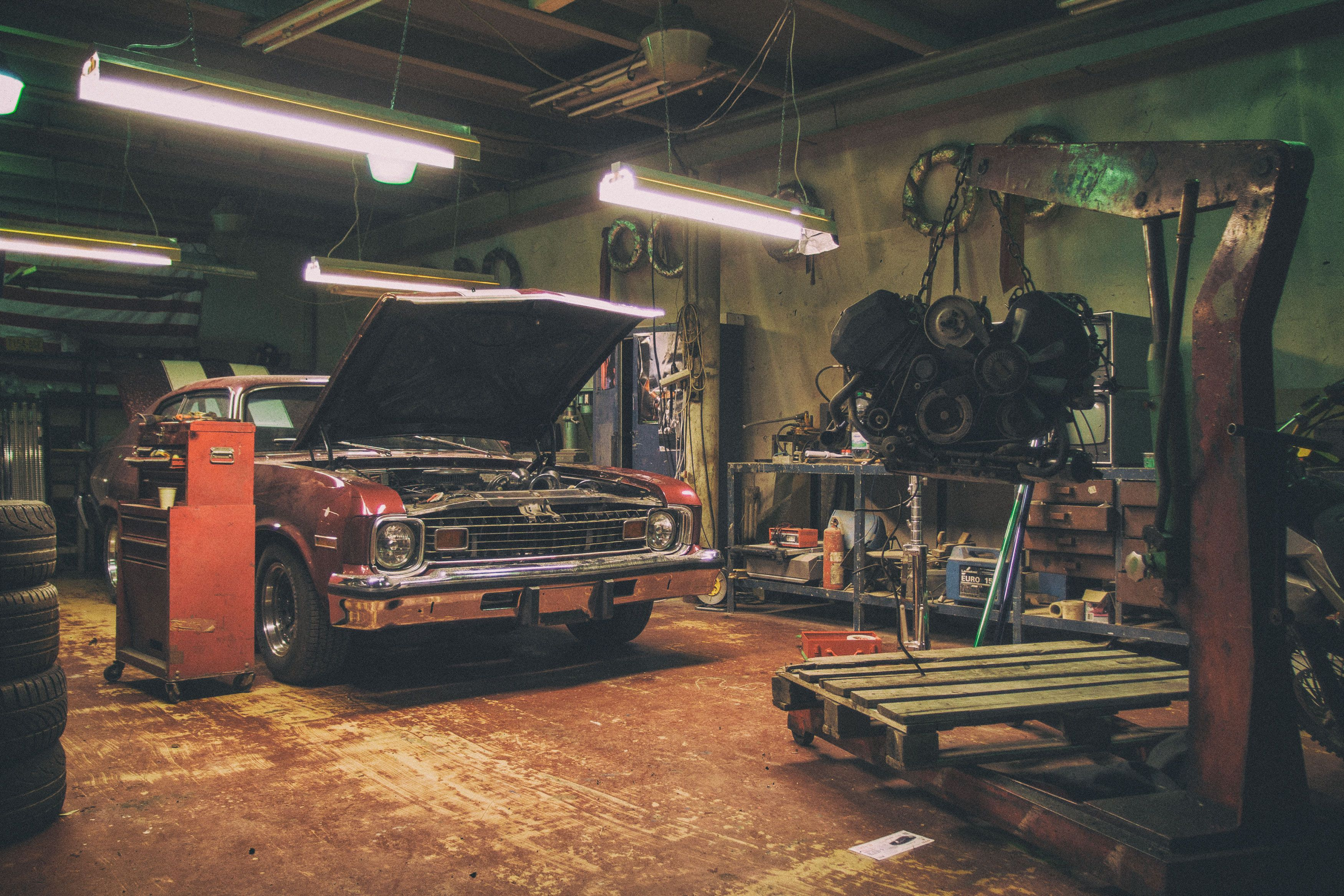 Car Repair Shop Free Stock Photo Libreshot Auto Repair Shop Car Repair Service Garage Repair