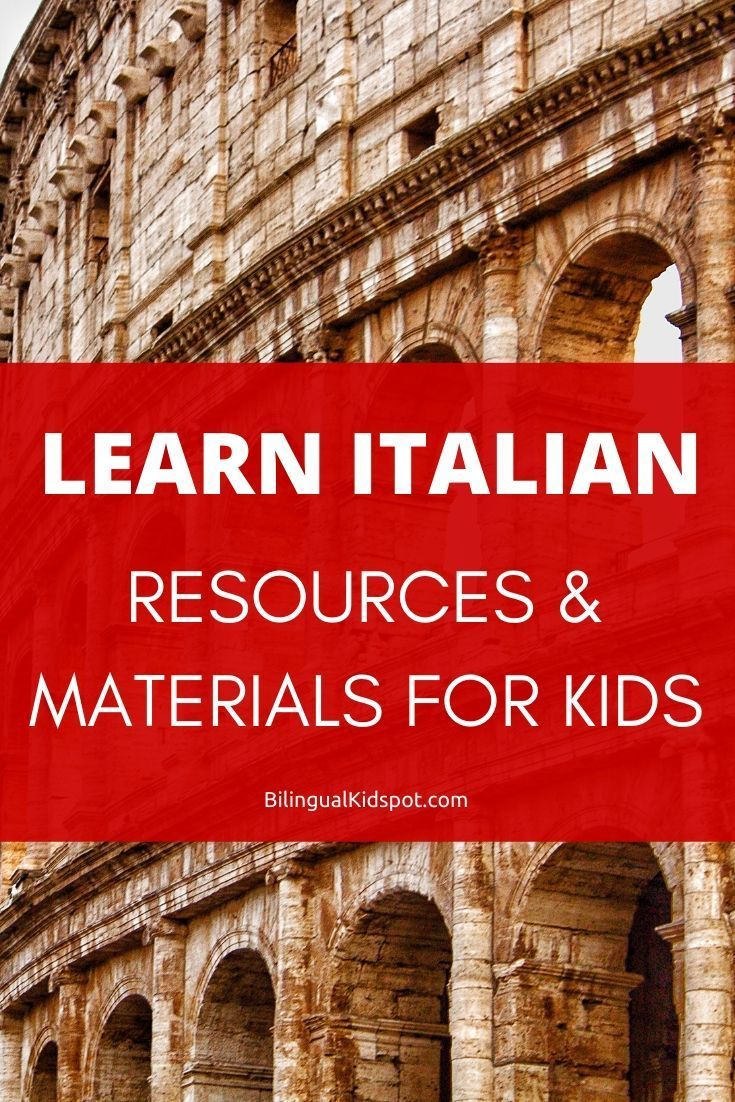 Italian for kids teach kids italian with these language