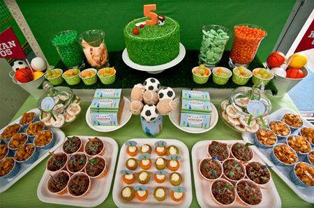 HomeDzine Ideas for a little boys birthday party Sports
