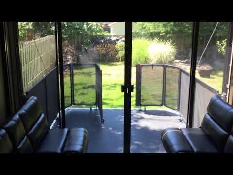 1 rv toy hauler screen patio kit under