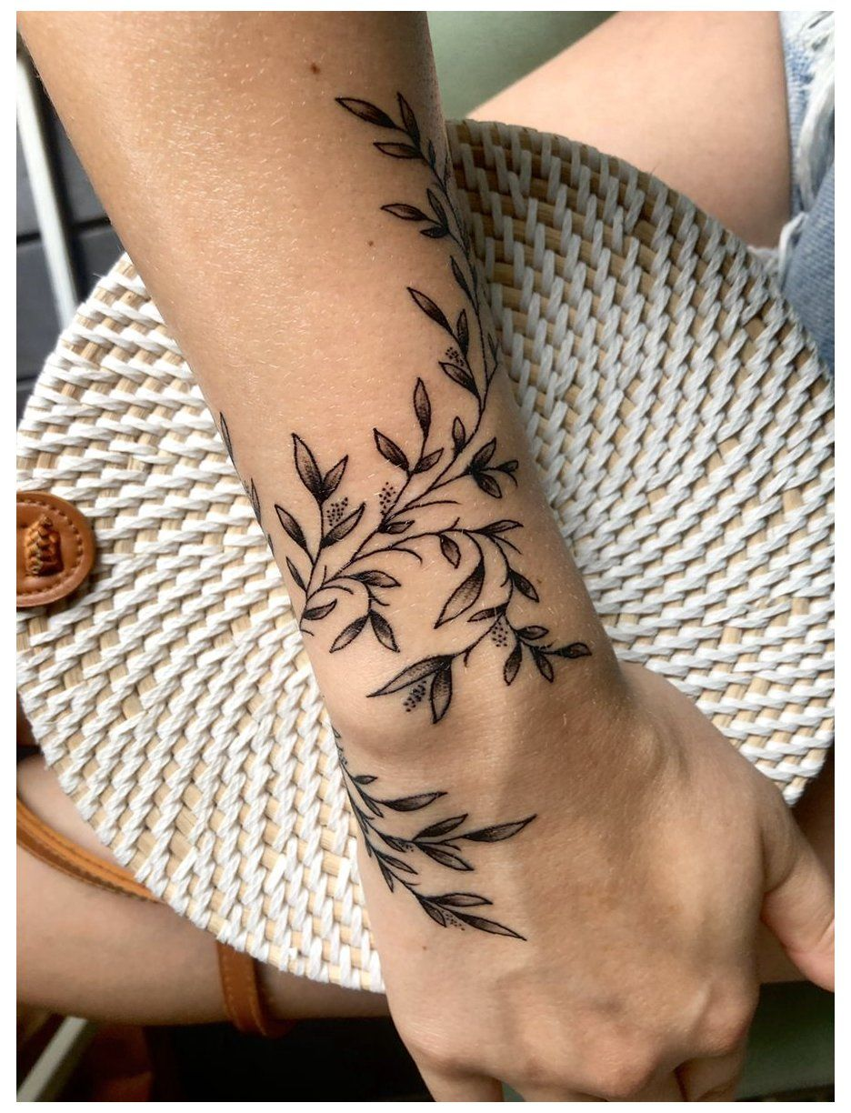 wrap around wrist tattoos