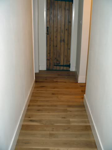 Installing Laminate Down Hallways From