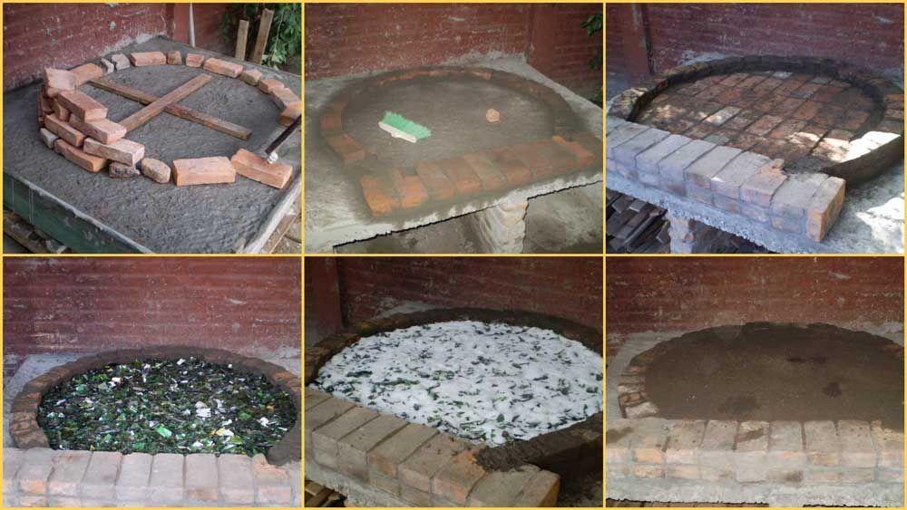 Como hacer un horno de barro jardineria pinterest horno barra y horno de le a - Como cocinar en un horno de lena ...