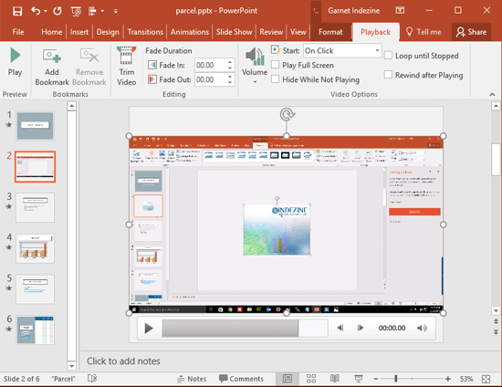 Screen Recording In Powerpoint 2016 For Windows Powerpoint Screen Fade Out