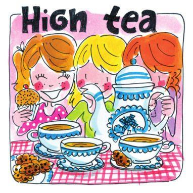 Verwonderend Blond Amsterdam - High Tea (met afbeeldingen)   Blond amsterdam IZ-06