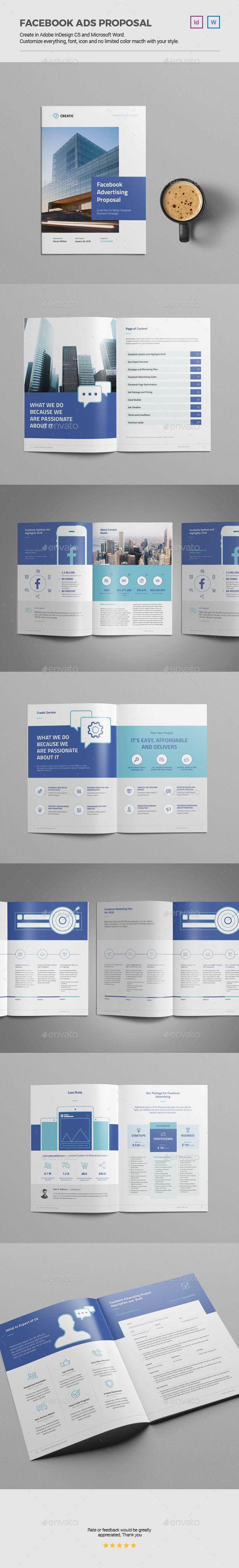 Facebook Advertising Proposal u2014 presentation us letter
