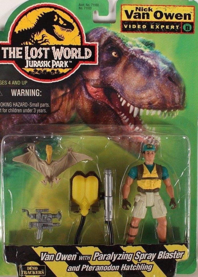 Jurassic Park Lost World Nick Van Owen Video Expert with Pteranodon Kenner NEW