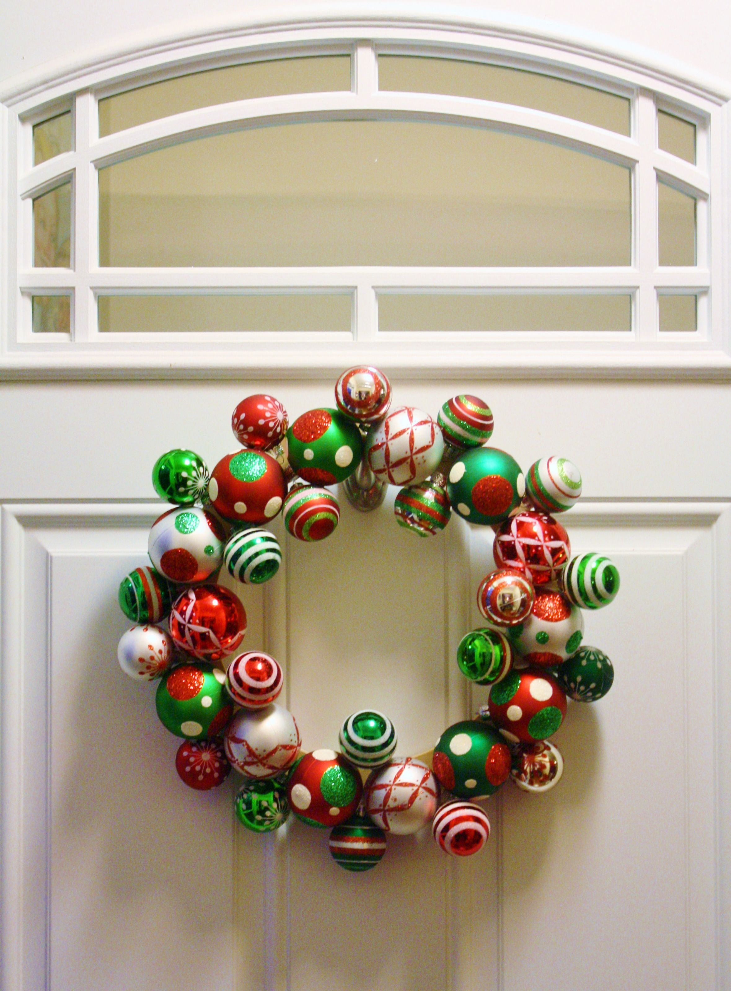 Lovely Michaels Christmas Craft Ideas Part - 9: 20-minute, Twelve-dollar Wreath Using Basic Supplies From Michaelu0027s Craft  Store.
