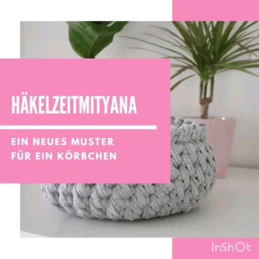 Photo of DIY Häkelkorb. Kostenloses Häkelmuster für ein Körbchen. Häkelanleitung. Free pattern