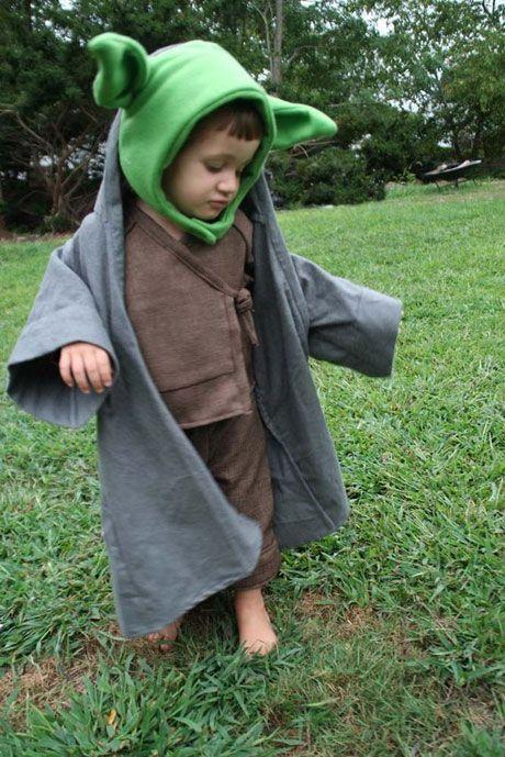 Yoda costume for the kiddies. #yoda #Halloween #costume  sc 1 st  Pinterest & Yoda costume for the kiddies. #yoda #Halloween #costume   COSTUMES ...