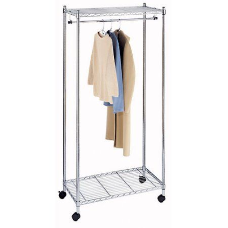 Whitmor Supreme Garment Rack Silver
